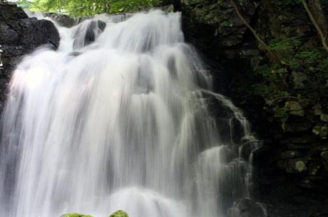 激しく流れる浅間大滝
