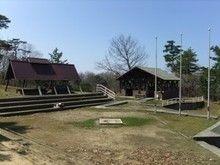 「鳥取砂丘こどもの国」のキャンプ場