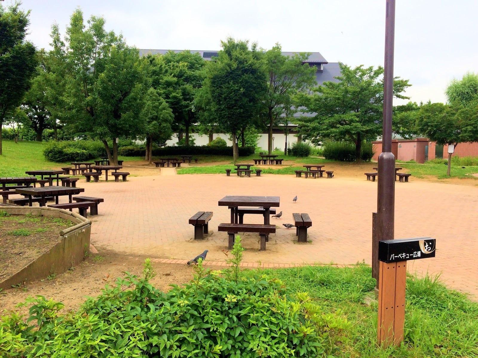 汐入公園のBBQ広場