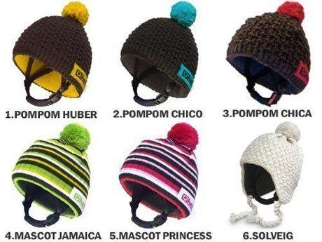 ニット帽型のヘルメット