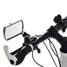 自転車のバックミラー