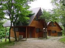 秋吉台家族旅行村のロッジ