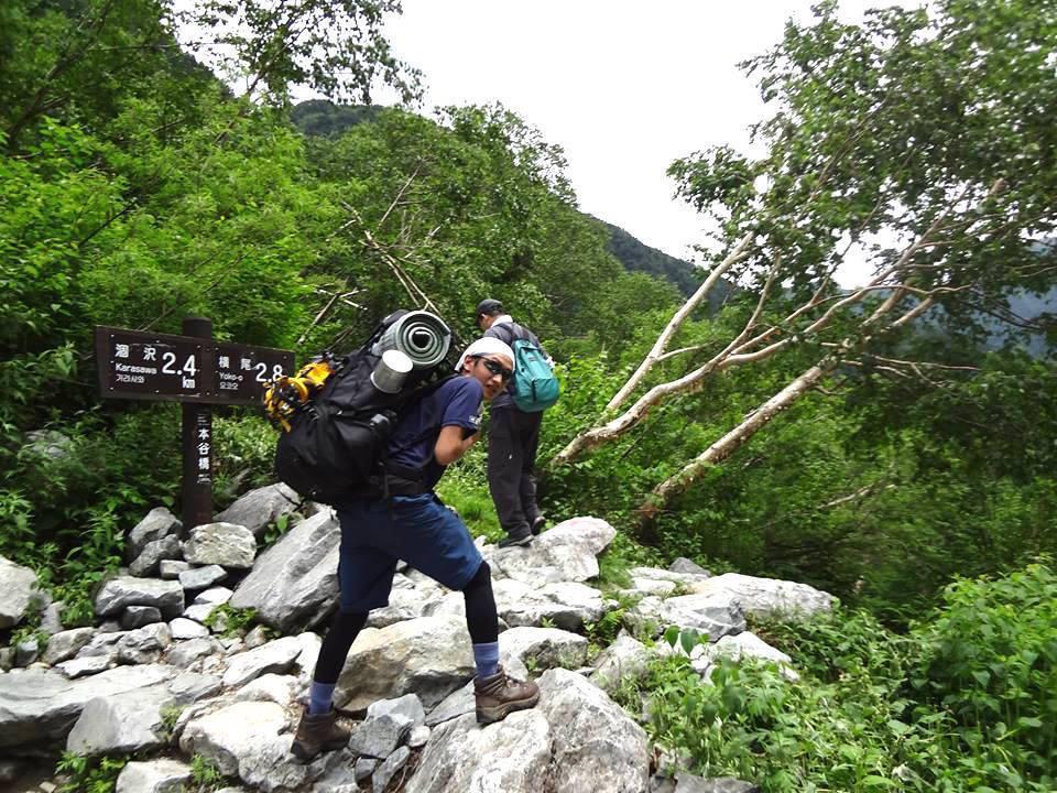 唐松岳の登山