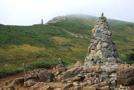 不思議な石の山「ケルン」