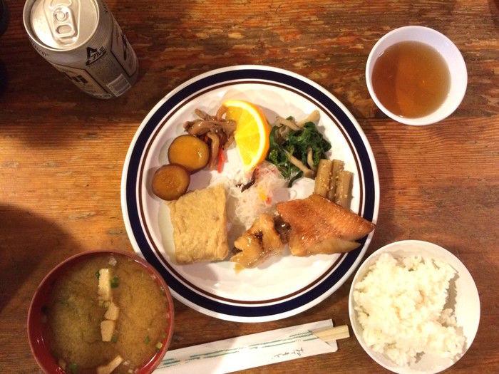 唐松岳頂上山荘の食事