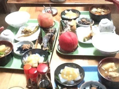 福ちゃん荘で食べられるほうとう