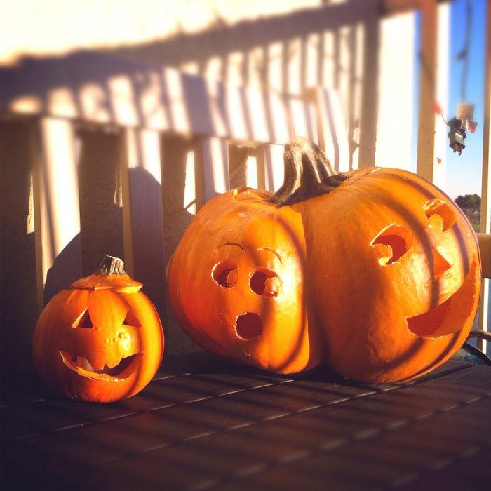 天日干しされたかぼちゃ