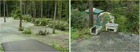 花の森オートキャンピアのオートキャンプ場