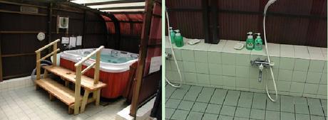 花の森オートキャンピアのお風呂