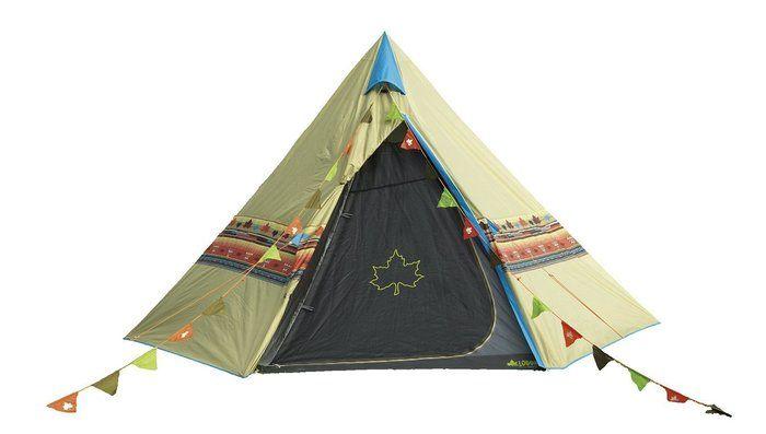 オススメのティピ型テント