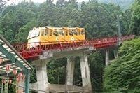 御岳山のケーブルカー