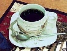 御岳山にある千本屋のコーヒー