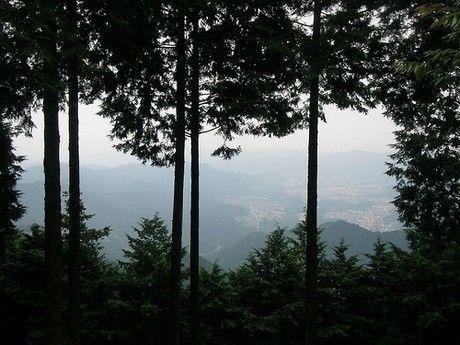 高水三山からの景色