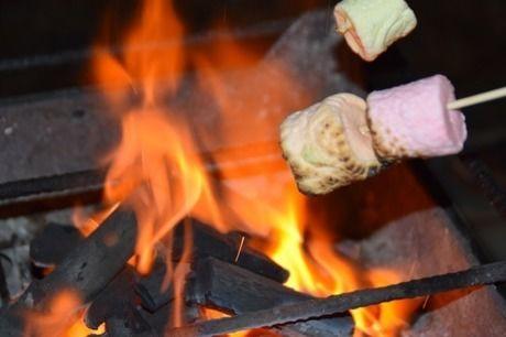 焼かれたマシュマロ
