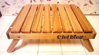 シエルブルーの初代ロールトップテーブル