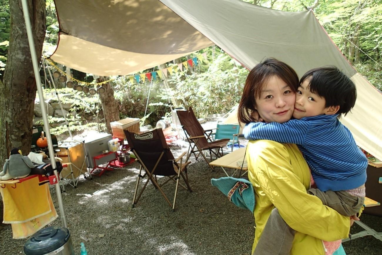 にしちゃんままのキャンプ写真