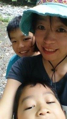 にしちゃんママと子供の写真