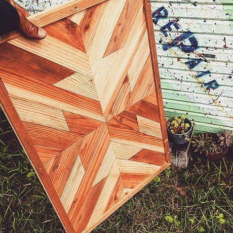 ネイティヴ柄の木工製品