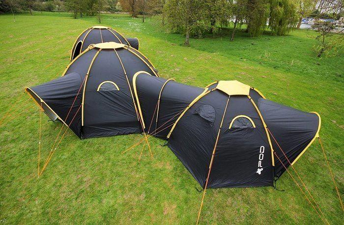 上から見た POD Tent