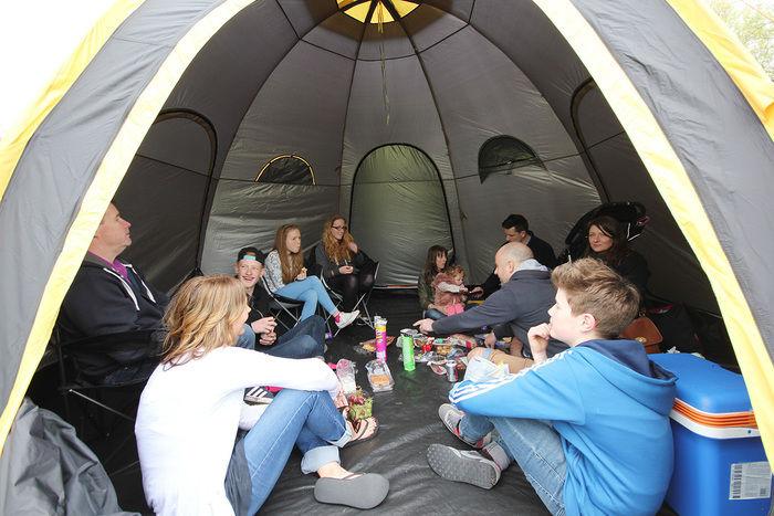 POD Tentの内部