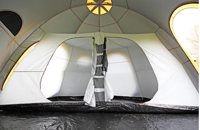 POD Tentの寝室