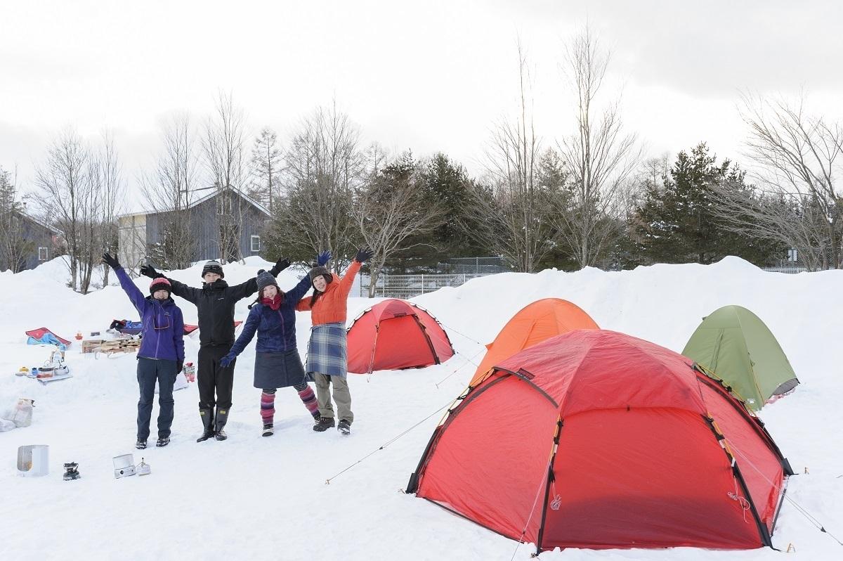 雪中キャンプに挑戦!気を付けるべきポイントとおすすめアイテム♪