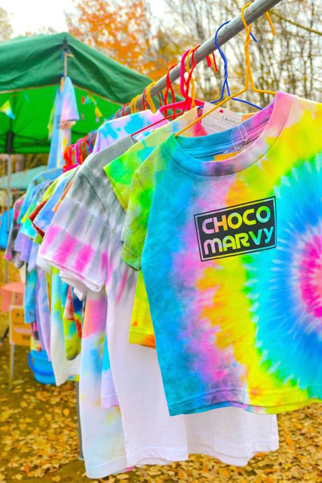 CHOCO MARVY(チョコ マービィ)の染めTシャツ