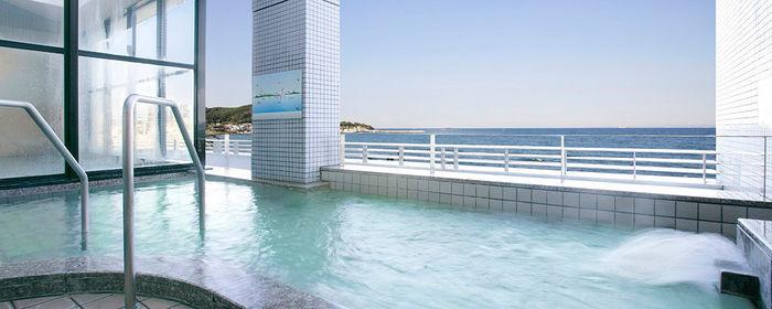 リゾートホテル休暇村館山の露天風呂