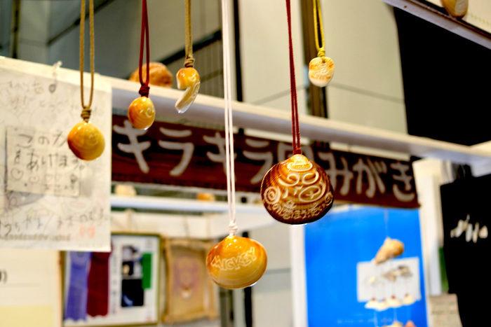 リゾートホテル休暇村館山で体験できる貝の宝石作り