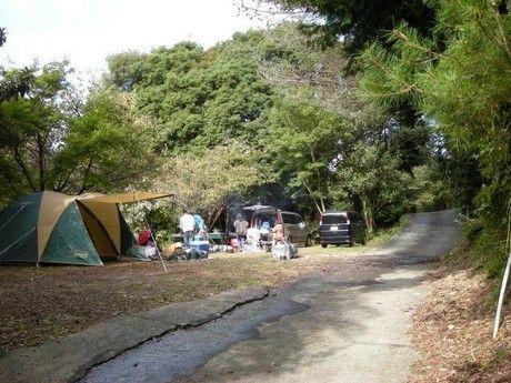 ACN伊豆キャンパーズビレッジのキャンプ場