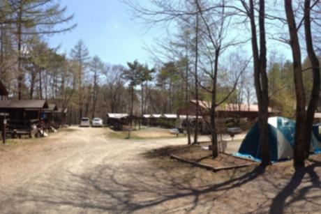 清里丘の公園オートキャンプ場のサイト