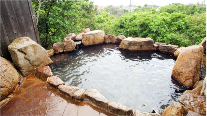 グランパスリゾート白浜の露天風呂