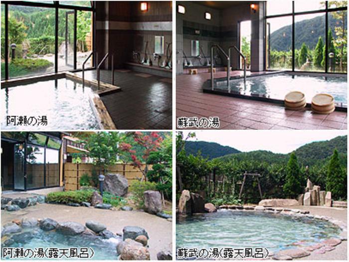 湯の原温泉オートキャンプ場のお風呂