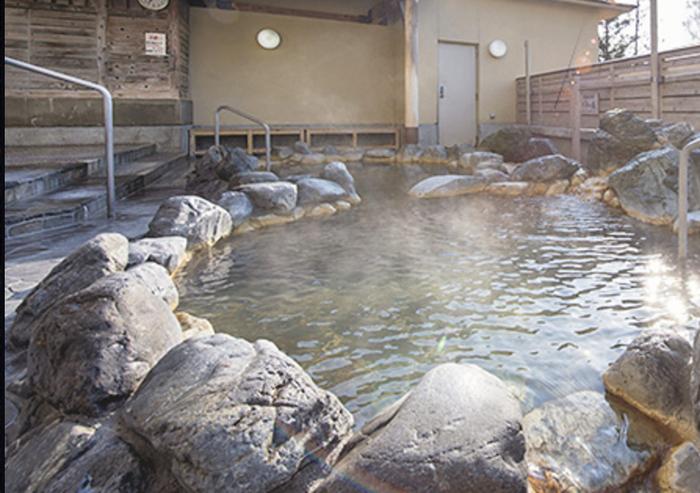 島ヶ原温泉 やぶっちゃの露天風呂