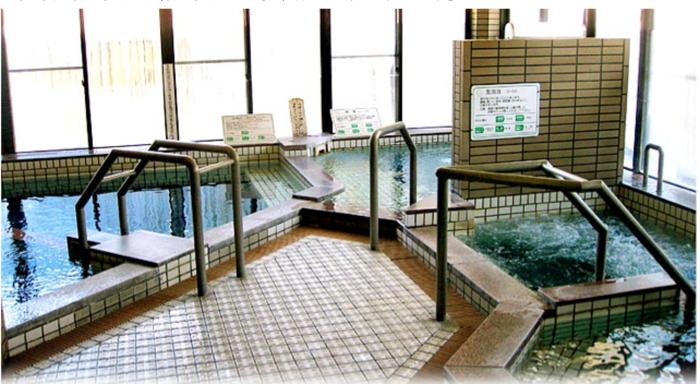 渡瀬緑の広場キャンプ場付近のケアハウス熊野本宮のお風呂