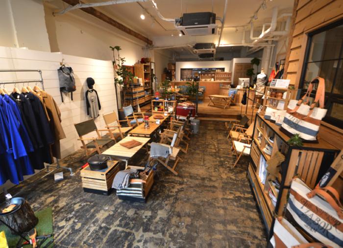 東日本橋のINOUTショップの店内