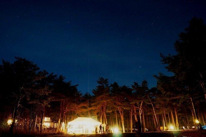 夜のPICA富士西湖