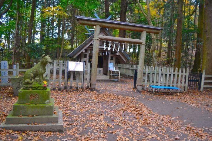 宝登山奥宮神社の入り口