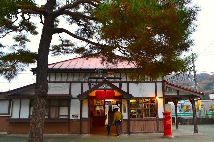 長瀞駅の外観