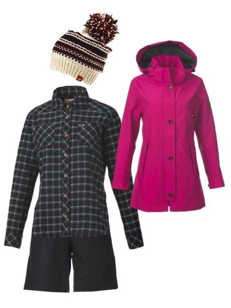 今回使用したFoxfireの冬登山のファッション