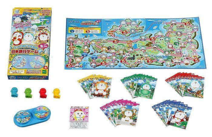 ドラえもんの日本旅行ゲームえ使うカードとアイテム