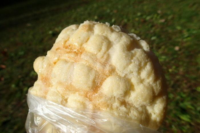 くのパンのメロンパン
