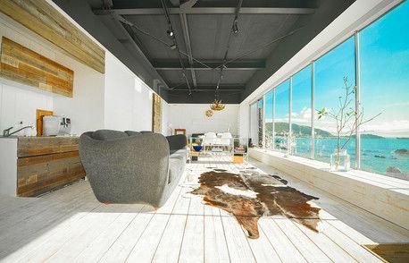 海に囲まれて贅沢な時間を過ごそう♡ 1日1組限定のグランピング「THE HOUSE」