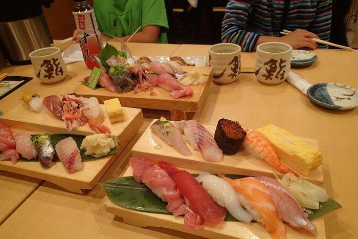 魚がし鮨沼津港店のお寿司