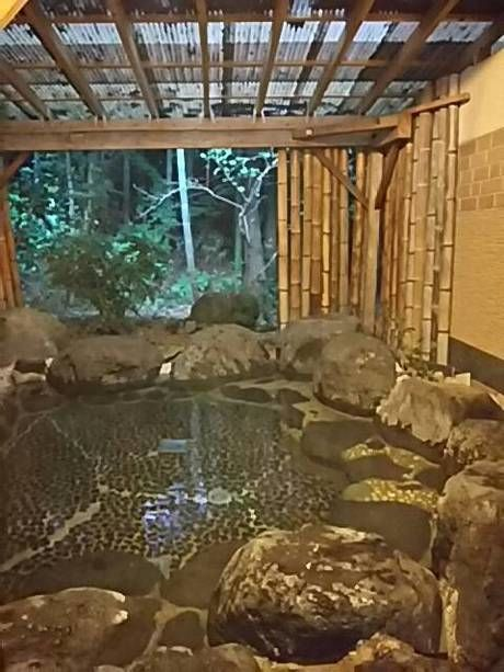 新富士オートキャンプ場の露天風呂