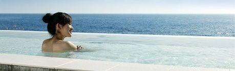 初島アイランドリゾートの露天風呂「島の湯」