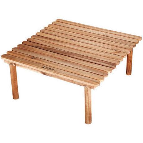 ウッド調のローテーブル