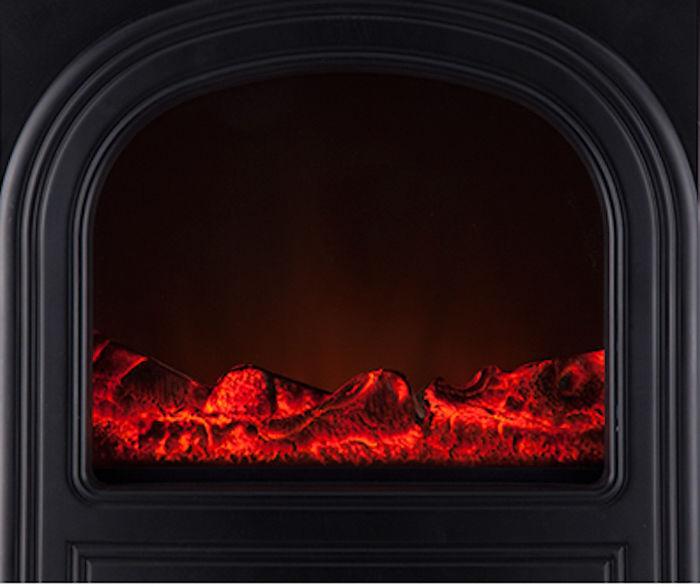ファンヒーターの暖炉部分