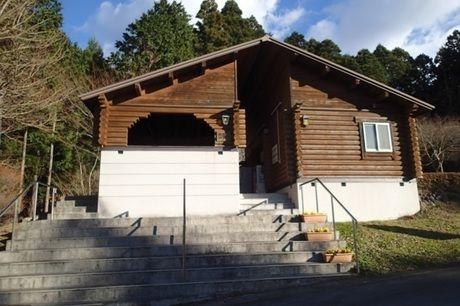 乙女森林公園第2キャンプ場の炊事場の外観