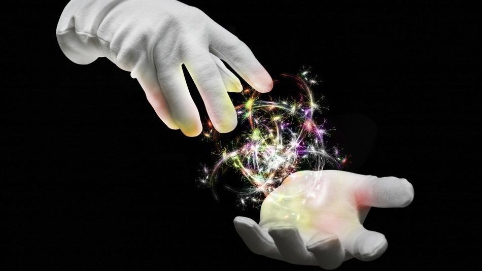 魔法の写真